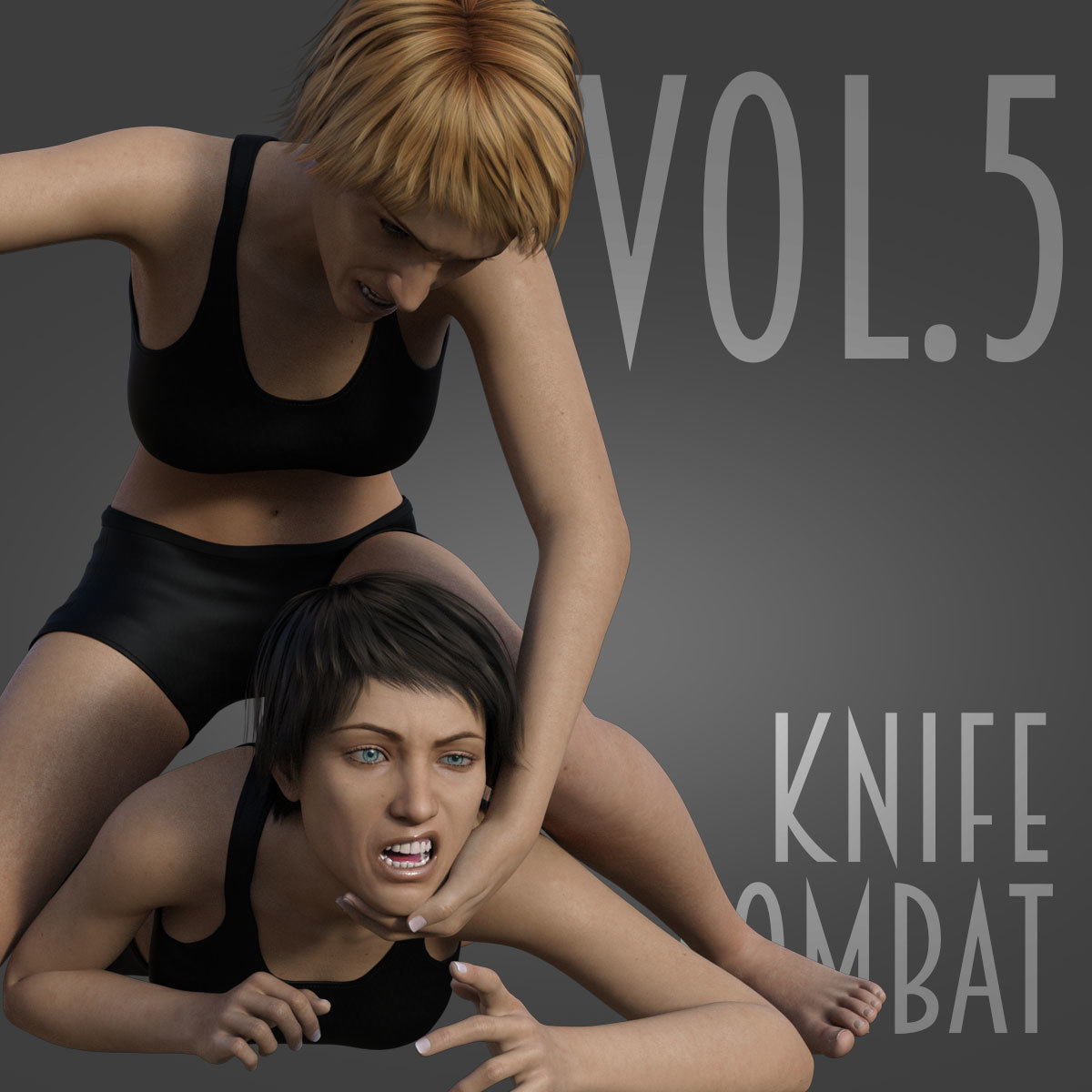 Knife Combat vol.5 for Genesis 8 Female by PainMD
