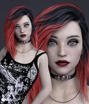 MbM Ophelia for Genesis 3 and 8 Female 3D Figure Assets Heatherlly