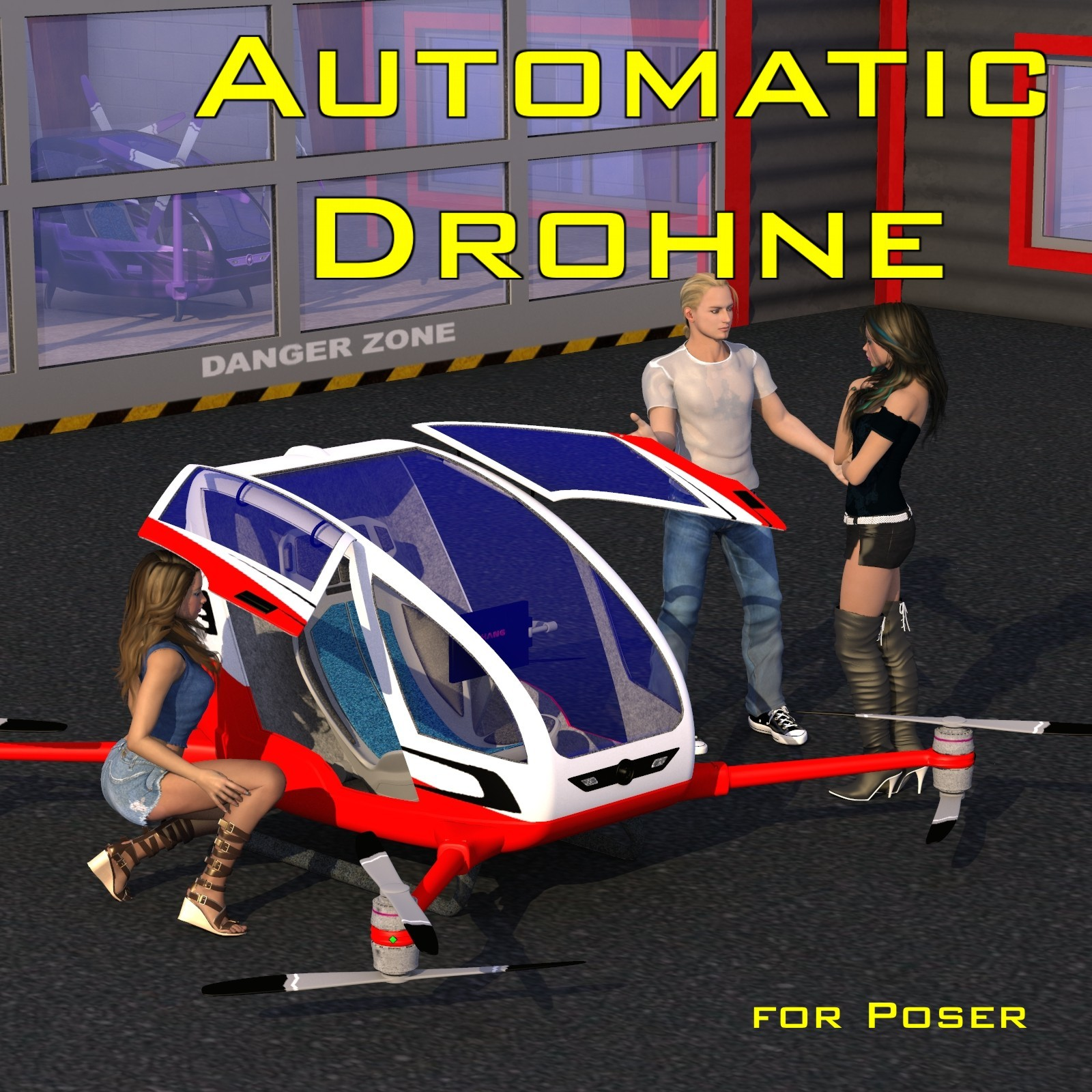 Automatic Drohne by mausel