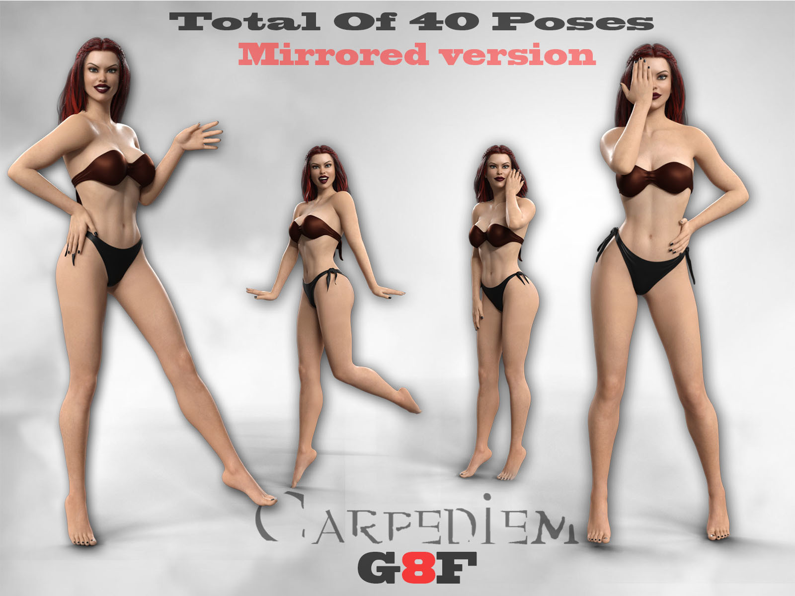Cool Poses For G8F by CarpeDiem3D