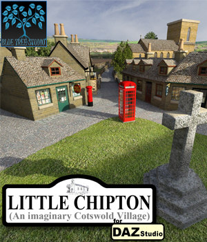 Little Chipton for Daz Studio 3D Models BlueTreeStudio