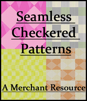 Seamless Checkered Patterns 2D Graphics Merchant Resources adarling97
