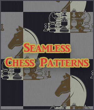 Seamless Chess Patterns 2D Graphics Merchant Resources antje