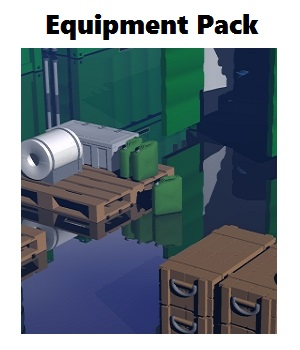 Eqipment Pack - Extended License 3D Game Models : OBJ : FBX 3D Models Extended Licenses darkness_02