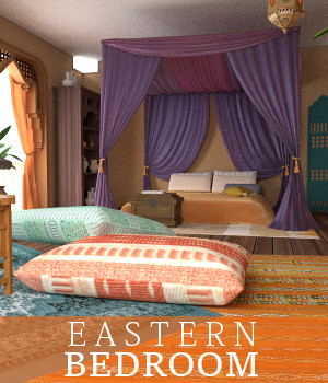 Eastern Bedroom 3D Models TruForm