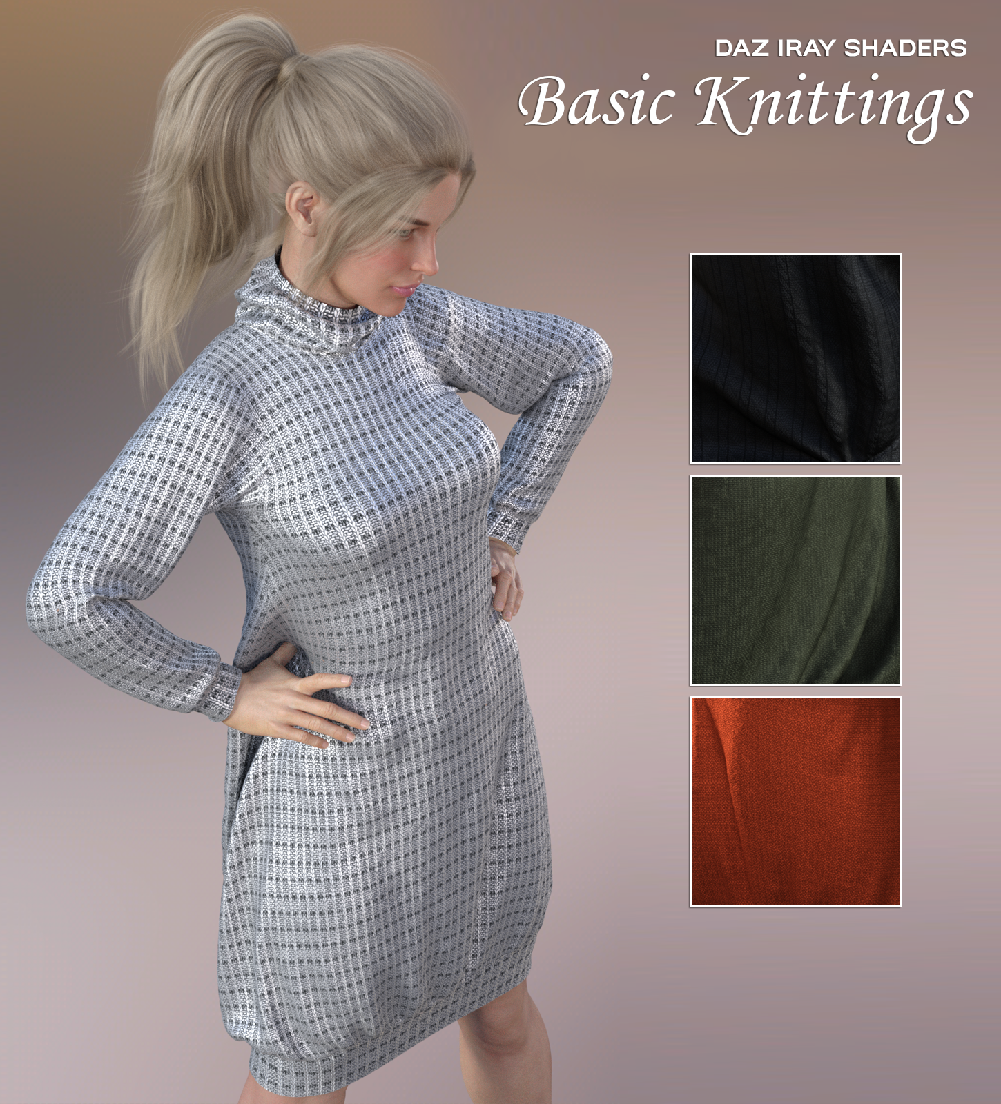 Daz Iray - Basic Knittings