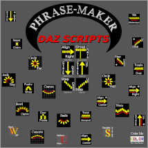 PHRASE-MAKER, 3D Writing and Design Scripts for Daz Studio with Bonus 3D Font image 8
