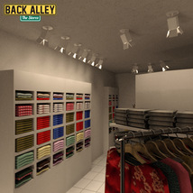 Back Alley The Stores for DS Iray image 7