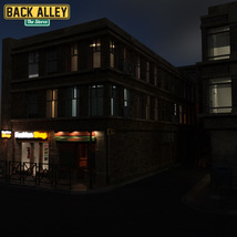 Back Alley The Stores for DS Iray image 9