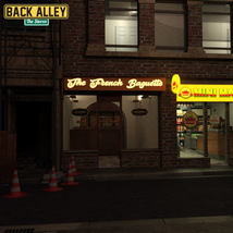 Back Alley The Stores for DS Iray image 10