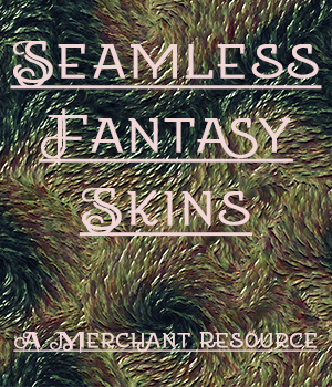 Seamless Fantasy Skins 2D Graphics Merchant Resources adarling97