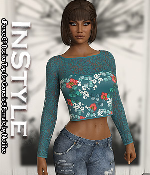 InStyle - dForce CP Rocker Top for Genesis 8 Female 3D Figure Assets -Valkyrie-