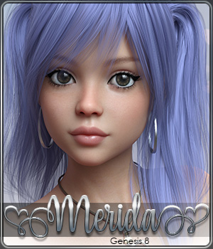 SASE Merida for Genesis 8 3D Figure Assets Sabby