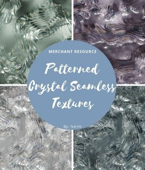 Patterned Crystal Textures 2D Graphics Merchant Resources nelmi