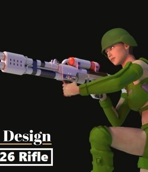 R25 & R26 Blaster Rifle 3D Models darkness_02