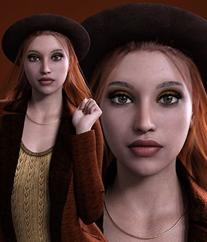 MbM Cadence for Genesis 3 and 8 Female 3D Figure Assets Heatherlly