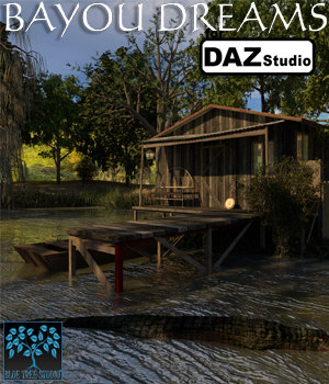Bayou Dreams for Daz Studio 3D Models BlueTreeStudio