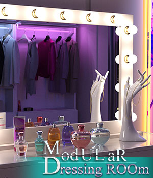 Modular Dressing Room 3D Models zoro_d