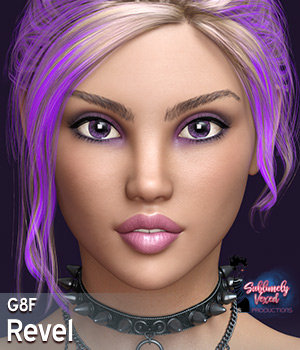 SublimelyVexed Revel Genesis 8 Female 3D Figure Assets 3DSublimeProductions