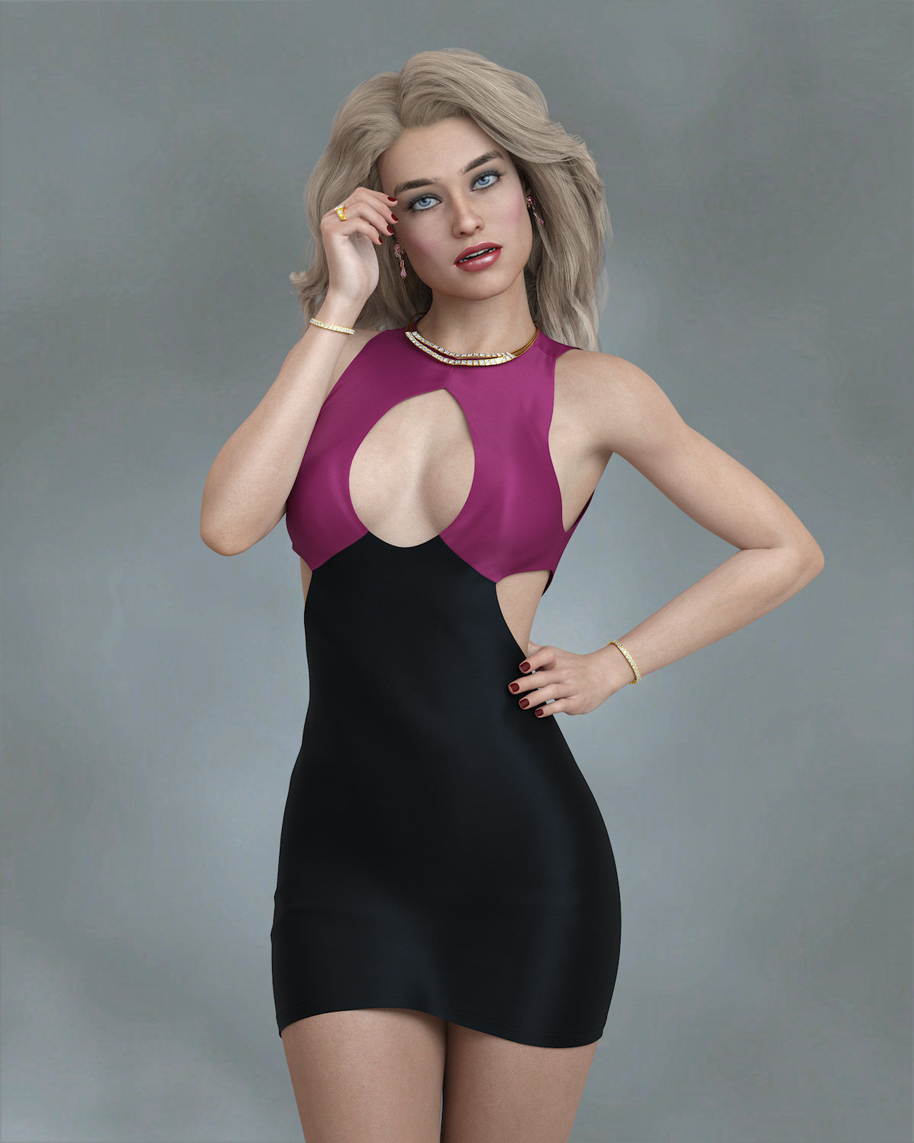 KrashWerks CAMRYN for Genesis 8 Female