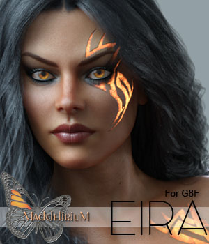MDD Eira for G8F IRAY Only 3D Figure Assets Maddelirium
