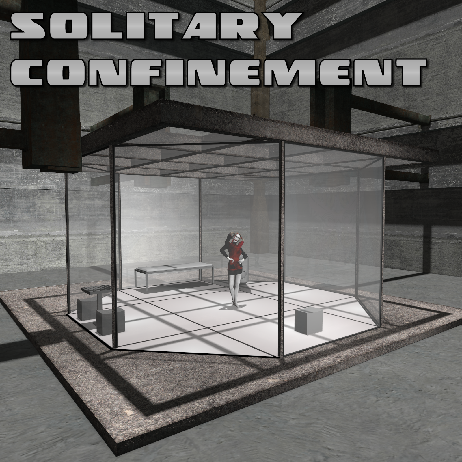 Solitary Confinement Unit for Poser 7+ by DexPac