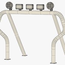 OFF ROAD ROLL BAR 1 - Extended License image 7