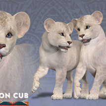 CWRW White Lion for the HiveWIre Lion Family image 6