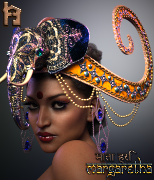 Margaretha 1905 Headdress EXPANSION PACK 3D Figure Assets The_Row_House