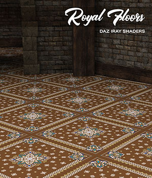 Daz Iray - Royal Floors 2D Graphics 3D Figure Assets Merchant Resources Atenais