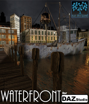 Waterfront for Daz Studio 3D Models BlueTreeStudio
