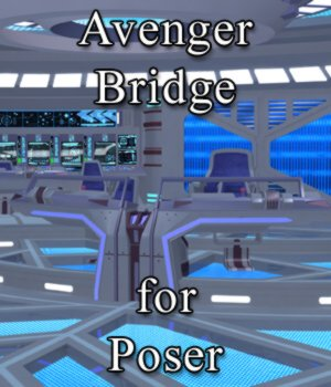Avenger Bridge for Poser 3D Models VanishingPoint