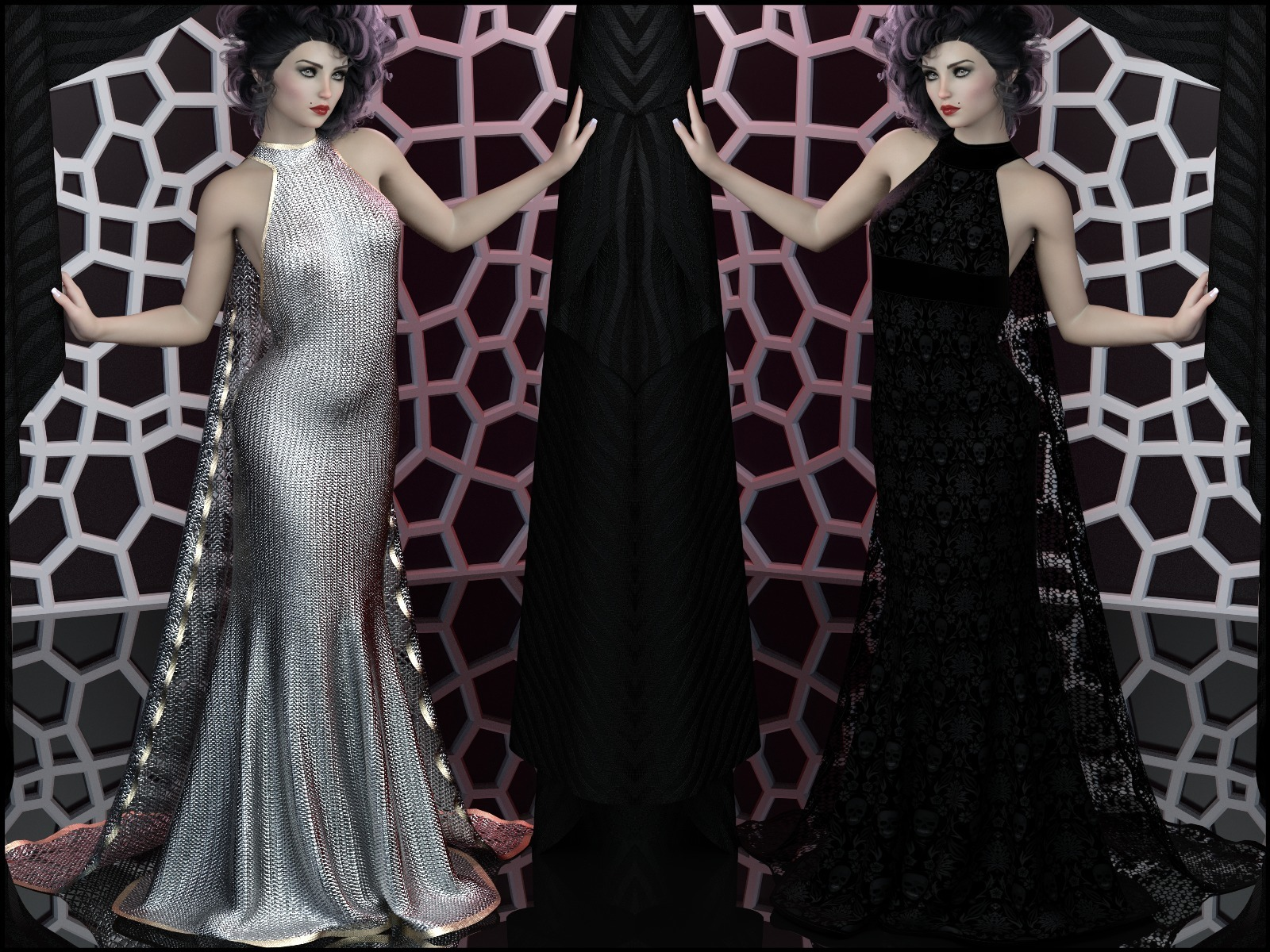 Epic: Trinity dForce Gown