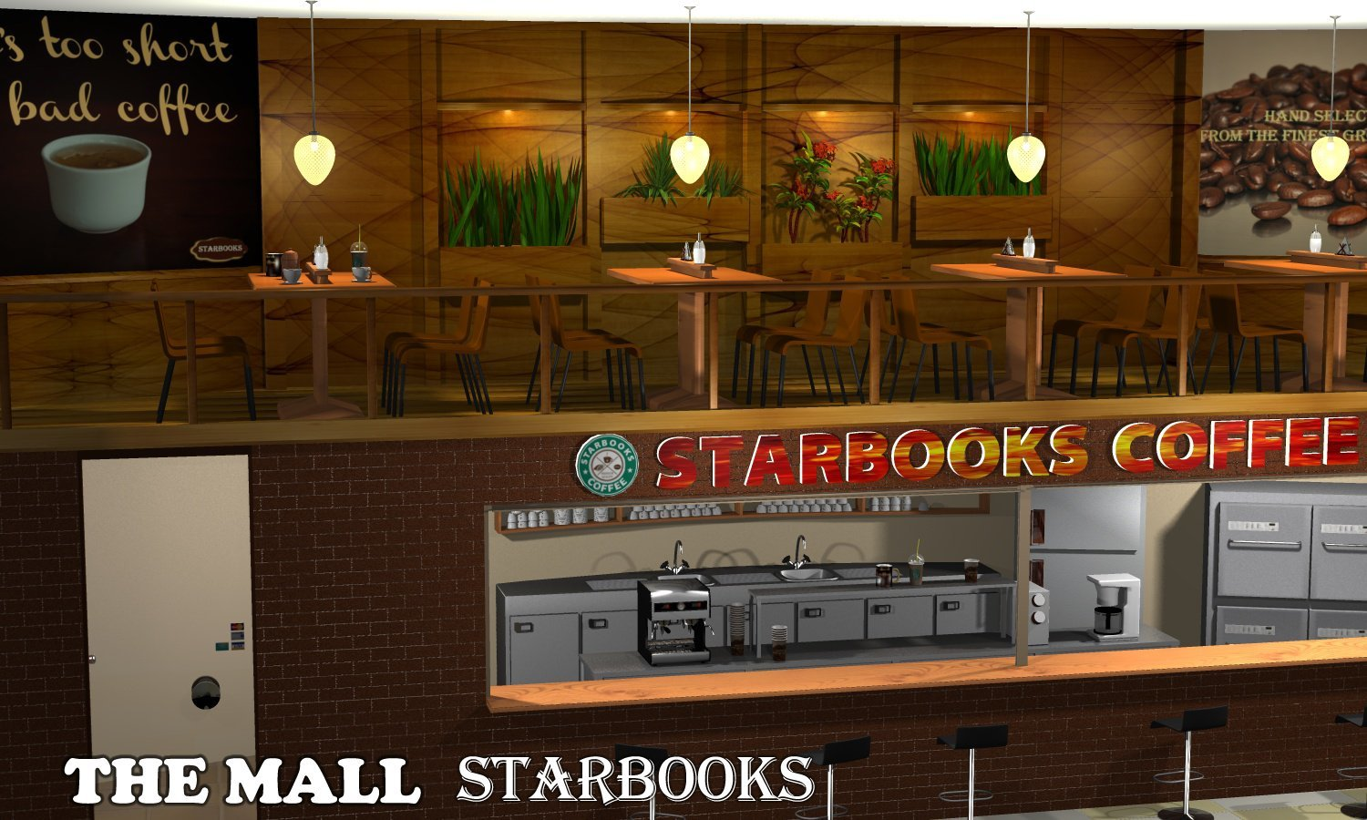 The Mall - Starbooks - Extended License