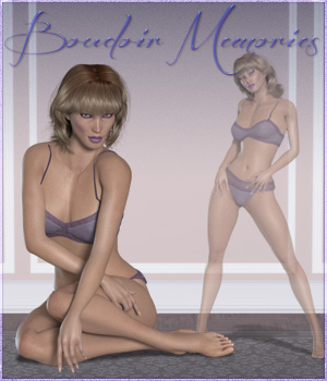 Boudoir Dreams for La Femme 3D Figure Assets La Femme - LHomme Poser Figures RPublishing