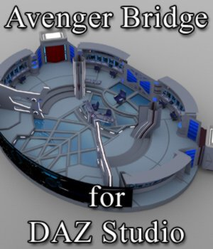 Avenger Bridge for DAZ Studio 3D Models VanishingPoint