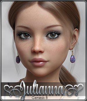 SASE Julianna for Genesis 8 3D Figure Assets Sabby