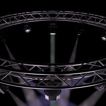Circle Square Truss 400cm-Stage Lights - Extended License image 4
