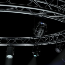 Circle Square Truss 400cm-Stage Lights - Extended License image 5