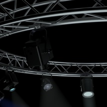 Circle Square Truss 400cm-Stage Lights - Extended License image 7