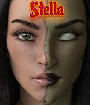 SublimelyVexed Stella for Genesis 8 Female(s) 3D Figure Assets 3DSublimeProductions