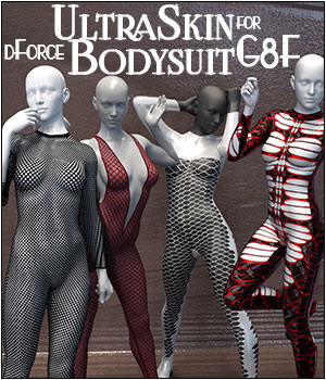 dForce UltraSkin Bodysuit for Genesis 8 Females 3D Figure Assets SWTrium