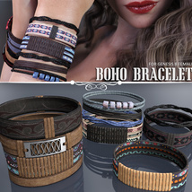 Boho Bracelets for Genesis 8 Females image 2