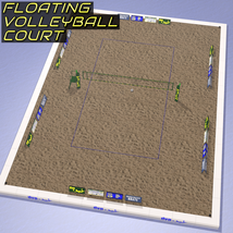 Floating Volleyball Court image 1