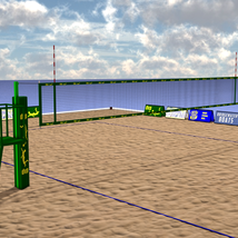 Floating Volleyball Court image 4