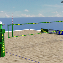 Floating Volleyball Court image 5