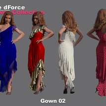 The dForce Gowns Collection for G8F image 2