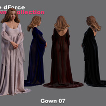 The dForce Gowns Collection for G8F image 7