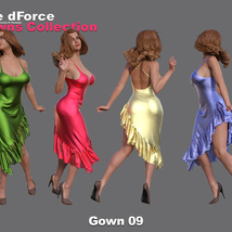 The dForce Gowns Collection for G8F image 9