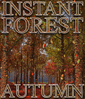 Flinks Instant Forest - Autumn Add-on 3D Models Flink